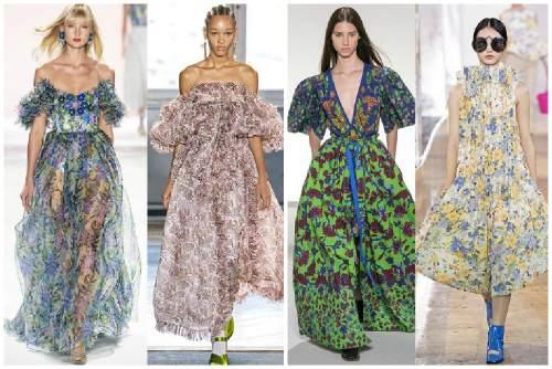 Длинные летние платья 2020