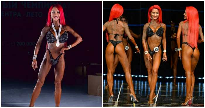 Дарина Маздюк на Чемпионате фитнес-бикини