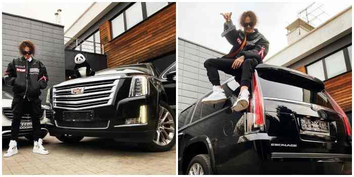 Cadillac Escalade Моргенштерна